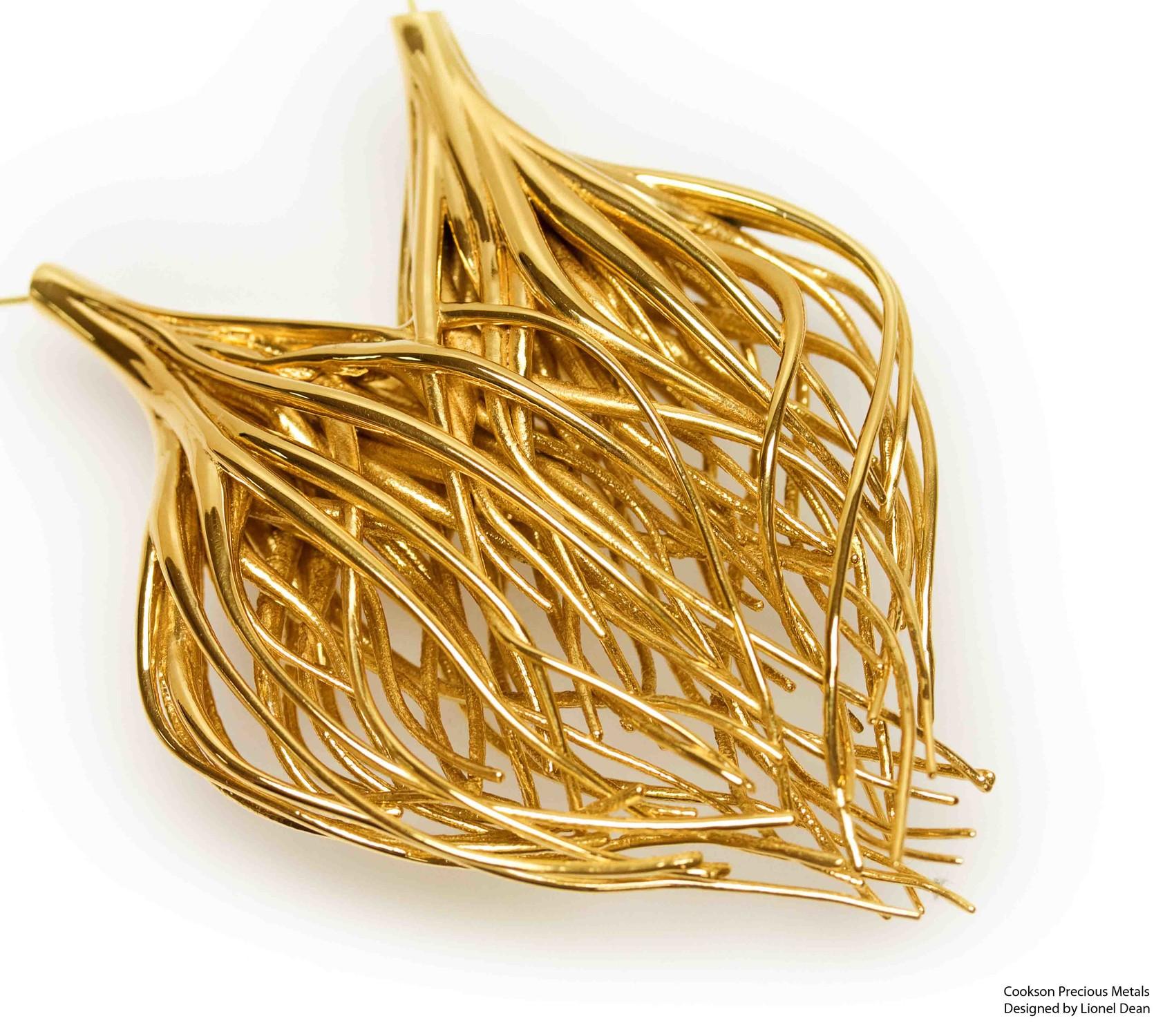 gold metal printing dmls designifying