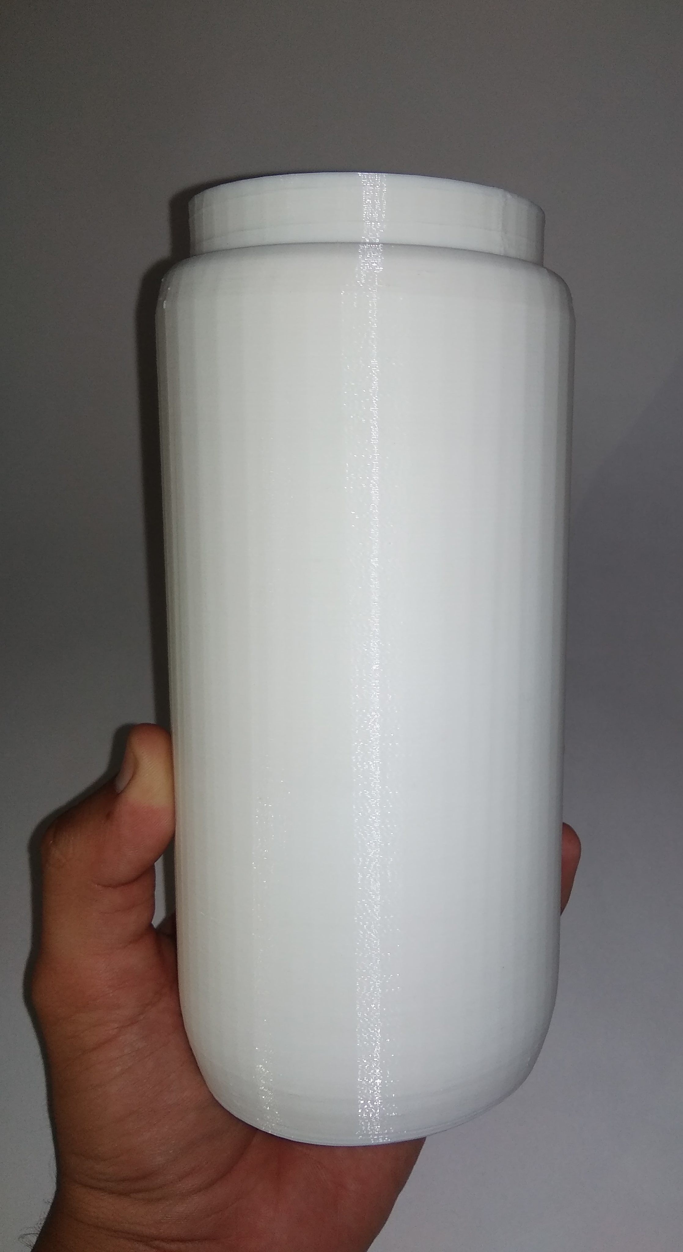 3d printed object india bottle